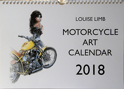 Motorcycle Art 2018 front cover