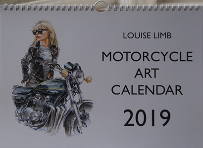 Motorcycle Art 2019 front cover