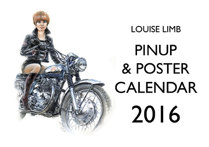 Louise Limb Classic Pin-Up Calendar 2014