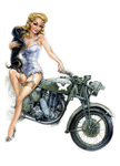 WW2 Jane and Matchless.