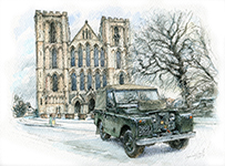 Series IIA and Ripon Cathedral.